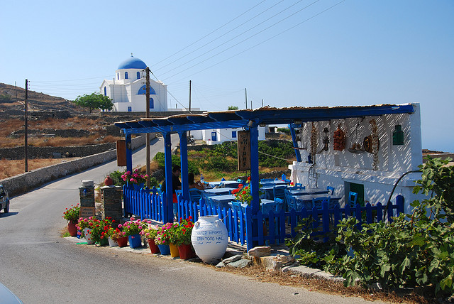 Ano Meria Folegandros Cyclades Island