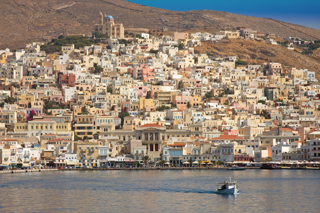 Ermoupoli Syros Photo Cyclades Greece