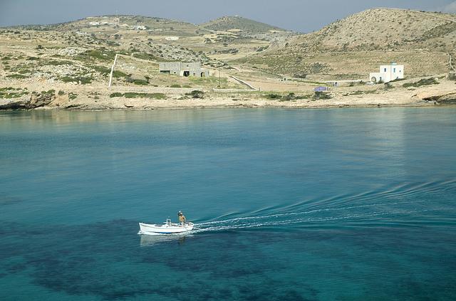 Schnousa Greece Cyclades Islands