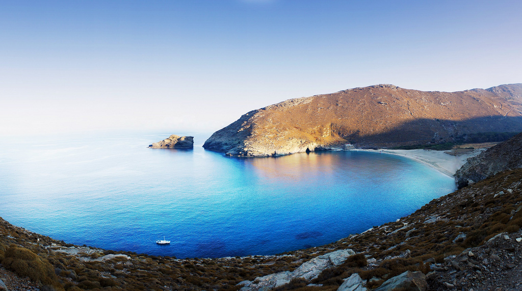 Achla Beach - Andros Cyclade Islands, Greece