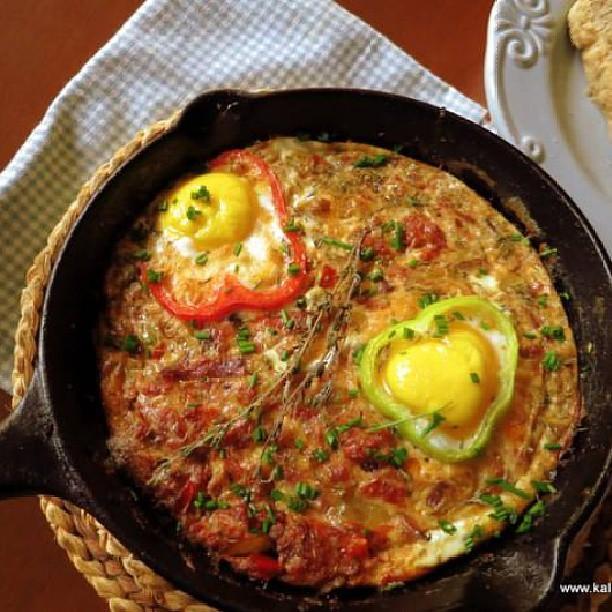 Kavourmas Omeleta